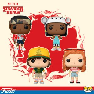 Funko Pop de Stranger Things, tercera temporada.